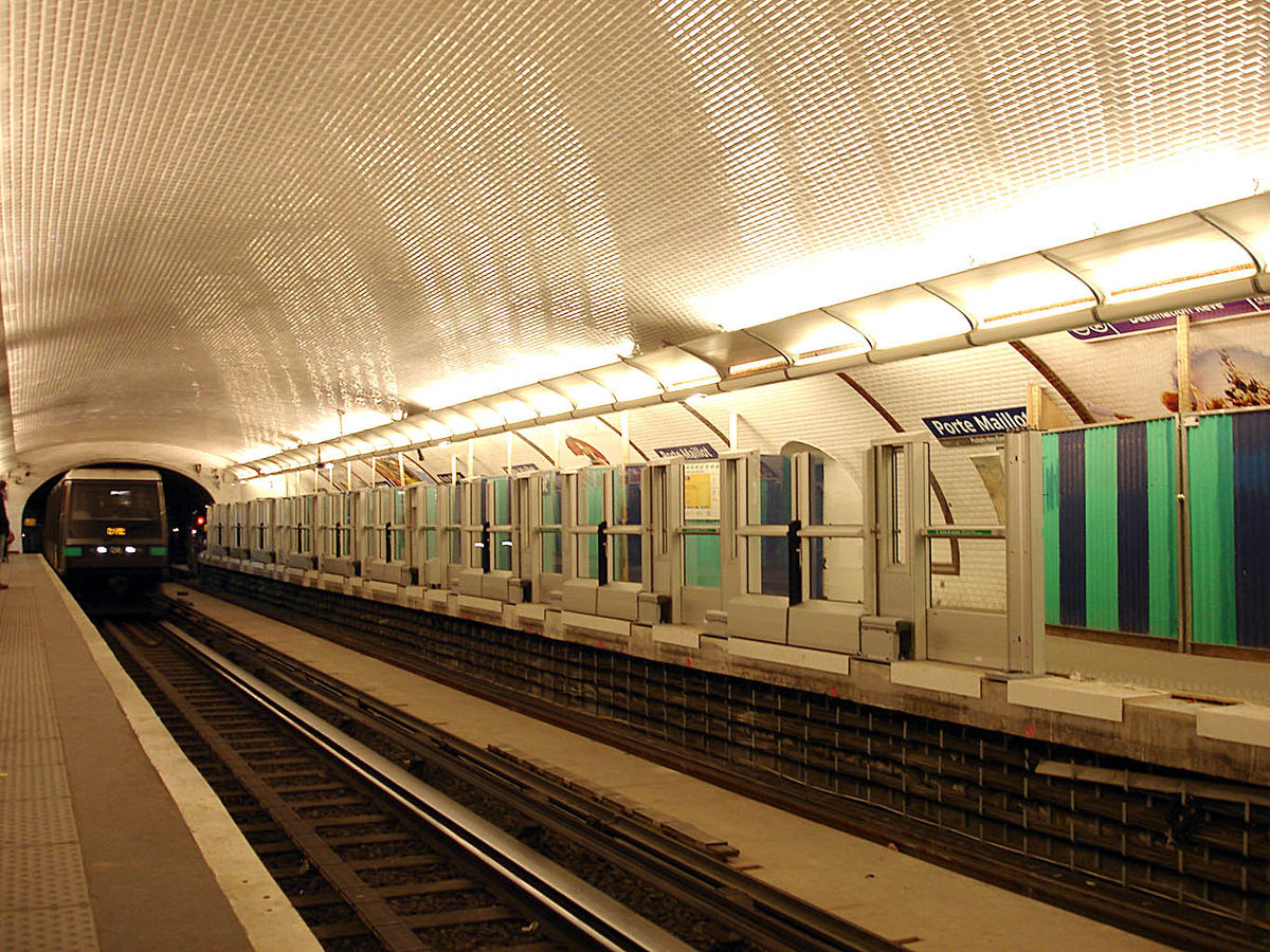 Porte maillot stanice metra v pa i wikipedie for Rer c porte maillot