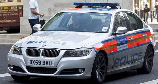 Metropolitan police BMW 3 series