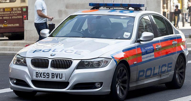 Metropolitan police BMW 3 series.JPG