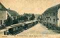 Metthez 514 - SELONCOURT - Hotel du Cygne et station du Tramway.JPG