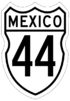 Federal Highway 44 shield