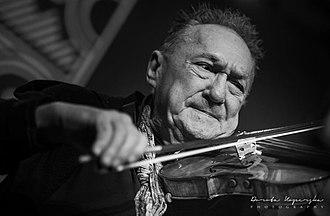 Michał Urbaniak - Michał Urbaniak, concert on 2019 at the Guido Mine, Zabrze as part of the LOTOS Jazz Festival at 21. Bielska Zadymka Jazzowa