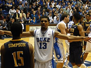 Michael Gbinije - Gbinije (13) during his time at Duke