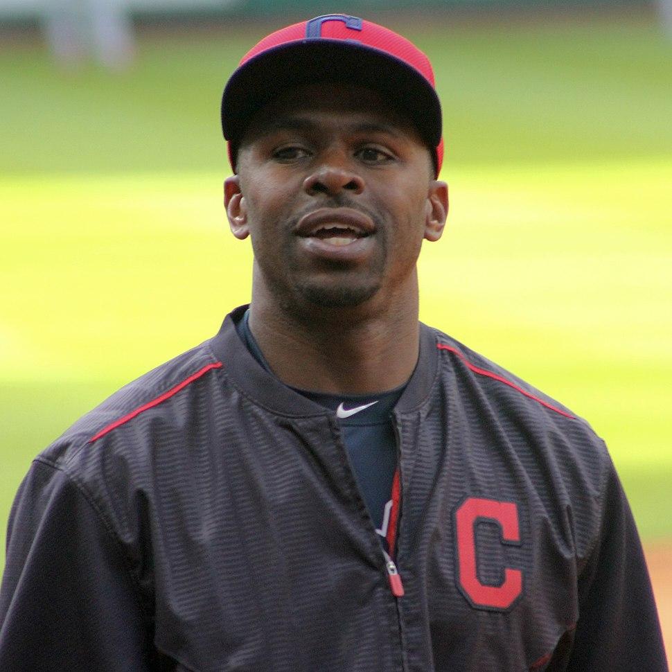 Michael Bourn Cleveland Indians April 2015 Houston