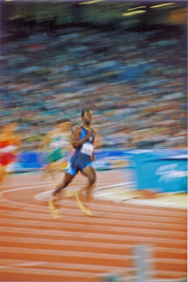 Michael Johnson Sydney2000