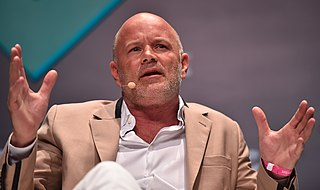 Michael Novogratz American billionaire businessman