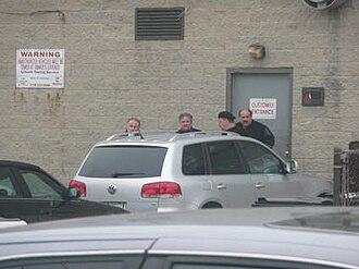 """Michael Sarno - From left, Nicholas Cataudella, Frankie """"Smalls"""" Damato, Michael Sarno and Salvatore Cataudella."""