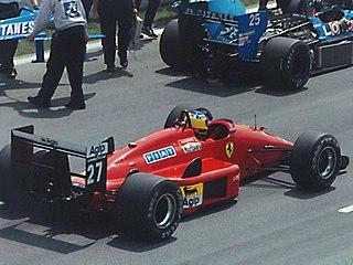 Michele Alboreto Italian racecar driver