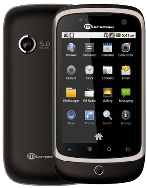 English: Micromax A70 android phone
