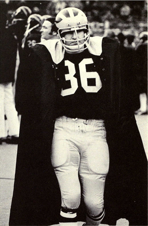 Mike Lantry - Lantry from 1973 Michiganensian