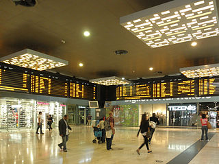railway station in the city of Milan, Italy