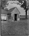 Milkhouse, view from southwest - Rose Hill, Dependency, East New Market, Dorchester County, MD HABS MD,10-NEMA,1A-1.tif