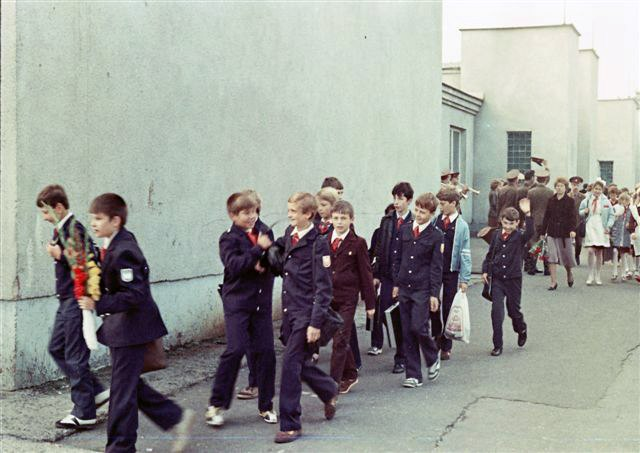 Milovice soviet pupils