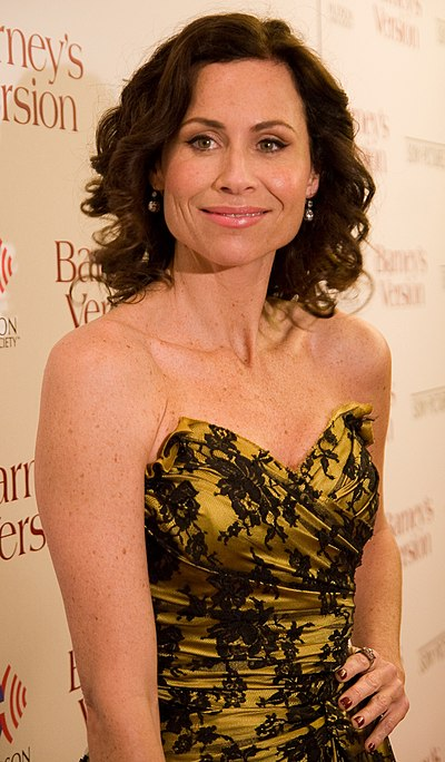 Minnie Driver, British-American actress and singer-songwriter