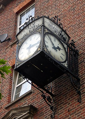 Minnie Lansbury - The Minnie Lansbury Memorial Clock, in Bow Road.