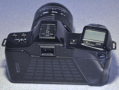 Minolta Dynax 7000i Analogue Film Camera, With Sigma 28-70mm Lens (8743145203).jpg