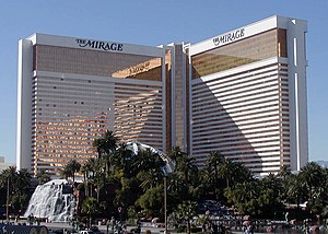 The Mirage in Las Vegas, Nevada.