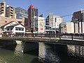 Mizugurumahashi Bridge on Hakatagawa River.jpg