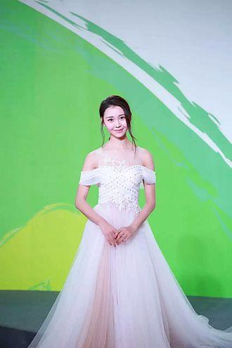 Liya A - At the 22nd Shanghai TV Festival.