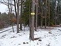 Mníšek pod Brdy, Hřebeny, bod záchrany PZ 001.jpg