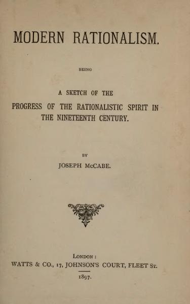 File:Modern Rationalism (1897).djvu