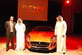 Mohammed Yousuf Naghi Motors unveils Jaguar F-TYPE in Jeddah, KSA (9004334361).jpg