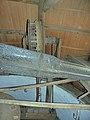 Molen Kerkhovense molen, kap bovenas (2).jpg