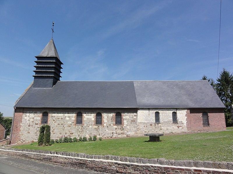 Monceau-le-Neuf-et-Faucouzy (Aisne) église