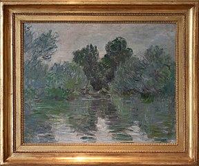 Un bras de Seine près de Vétheuil