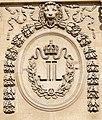 Monogram Louis XVIII cour Carree Louvre.jpg