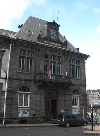 Mont-Dore - Image: Mont Dore Hotel De Ville