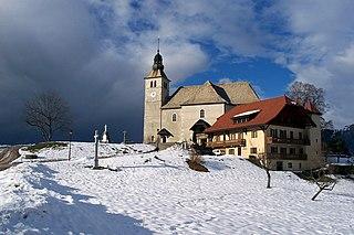 Mont-Saxonnex Commune in Auvergne-Rhône-Alpes, France