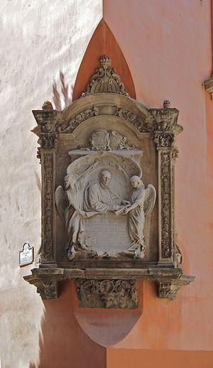 Francisco Suárez - Monument in Granada, Spain, where he was born