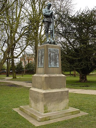 Albert Toft - Image: Monument to Suffolk soldiers, Christchurch park geograph.org.uk 1223180
