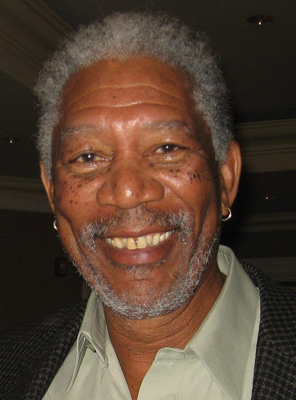 Morgan Freeman, 2006 (cropped)