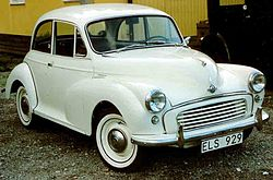Morris Minor 1000 2-Door Saloon 1958