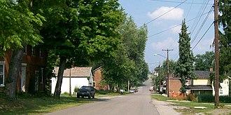 Morristown, Ohio - Main Street in Morristown