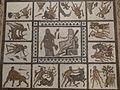 Mosaico de los trabajos de Hércules, Museo Arqueológico Nacional, Madrid, España, 2016 01.jpg