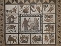 Mosaico de los trabajos de Hércules, Museo Arqueológico Nacional, Madrid, España, 2016 14.jpg
