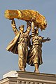 Moscow VDNH Sculptural group The worker and collective farmer woman 2019 09 07.jpg
