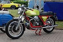 Moto Guzzi V 7 Sport, Baujahr 1973 (2017-07-02 Sp).JPG