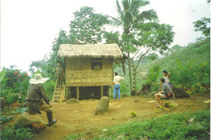 Subanon people - A small Subanen village on Mount Malindang