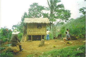 Subanon people - A small Subanen village on Mount Malindang