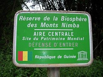 Mount Nimba Strict Nature Reserve - Mount Nimba Strict Nature Reserve
