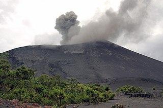 Mount Yasur Volcano on Tanna Island, Vanuatu