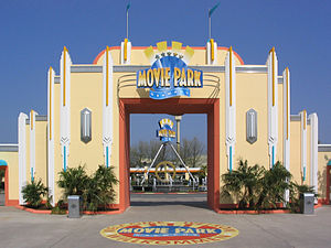 Movie Park Germany - Main Entrance