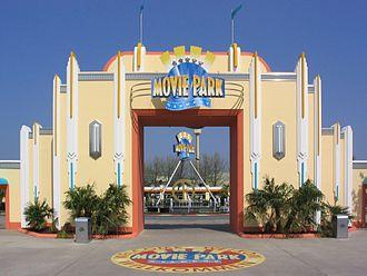 Movie Park Germany - Main Entrance