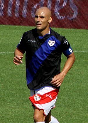 José María Movilla - Movilla in action for Rayo in 2011