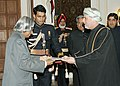 Mr. Mohammed Bin Yousuf Shalwani, Ambassador of Oman presented his credentials to the President Dr. APJ Abdul Kalam at Rashtrapati Bhavan on 8th December, 2005.jpg