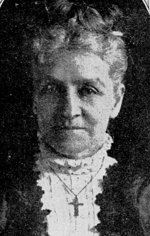 Carrie Babcock Sherman - Image: Mrs. Sherman